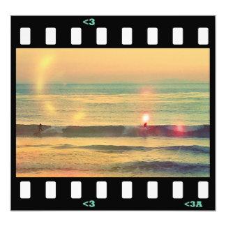 límite del condado de la resaca de la playa fotografías