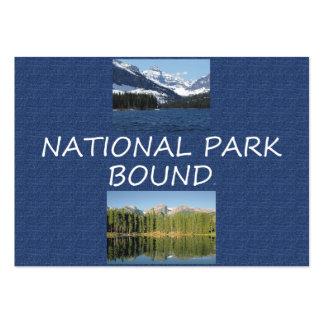 Límite del parque nacional de la CAMISETA Tarjetas De Visita Grandes
