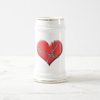 Límite por la cerveza Stein del amor Jarra De Cerveza