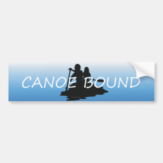 Límite SUPERIOR de la canoa Etiqueta De Parachoque