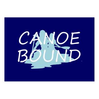 Límite SUPERIOR de la canoa Tarjeta De Visita
