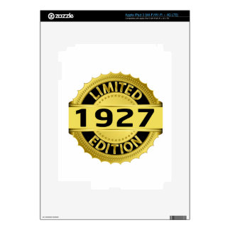 Limited 1927 Edition Skins For iPad 3