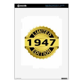 Limited 1947 Edition iPad 3 Decals
