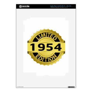 Limited 1954 Edition Decals For iPad 3
