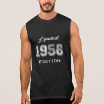 Limited 1958 Edition - Awesome Birthday Gift Sleeveless Shirt