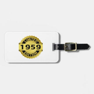 Limited 1959 Edition Tags For Bags