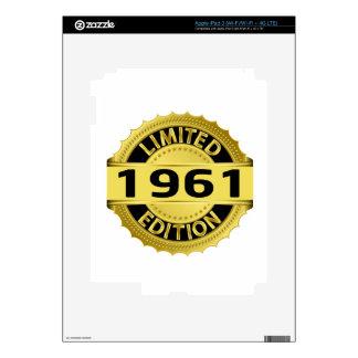 Limited 1961 Edition iPad 3 Skin