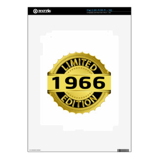 Limited 1966 Edition Skin For iPad 2