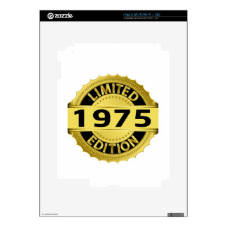 Limited 1975 Edition Decals For The iPad 2
