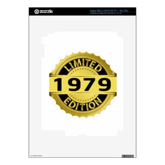 Limited 1979 Edition iPad 3 Skins