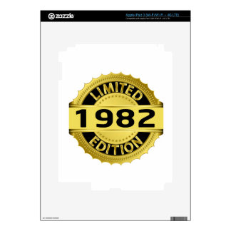 Limited 1982 Edition Decals For iPad 3