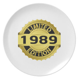 Limited 1989 Edition Dinner Plates