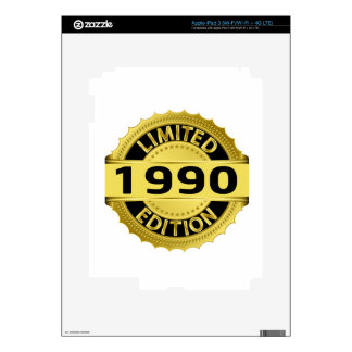 Limited 1990 Edition Decal For iPad 3