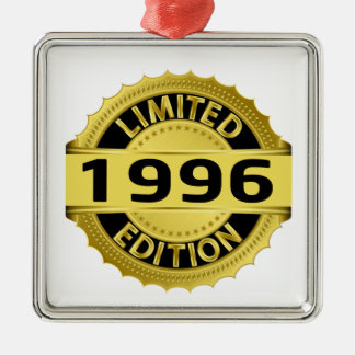 Limited 1996 Edition Metal Ornament