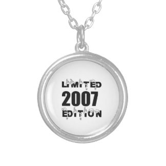 LIMITED 2007 EDITION BIRTHDAY DESIGNS SILVER PLATED NECKLACE