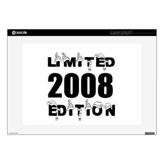 LIMITED 2008 EDITION BIRTHDAY DESIGNS LAPTOP DECALS