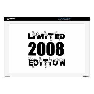 LIMITED 2008 EDITION BIRTHDAY DESIGNS LAPTOP SKINS
