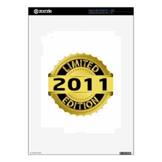 Limited 2011 Edition Skins For iPad 2