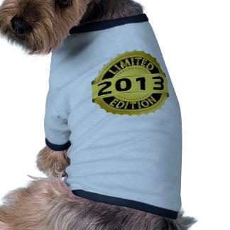 Limited 2013 Edition Dog Tee Shirt