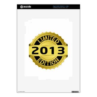 Limited 2013 Edition iPad 2 Skin