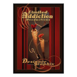 Limited Addiction Productions Print