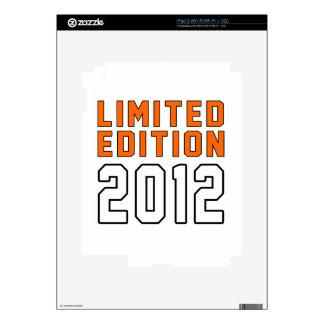 Limited Edition 03 Birthday Designs iPad 2 Decals