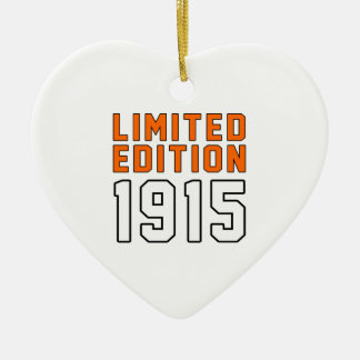 Limited Edition 100 Birthday Designs Ornaments