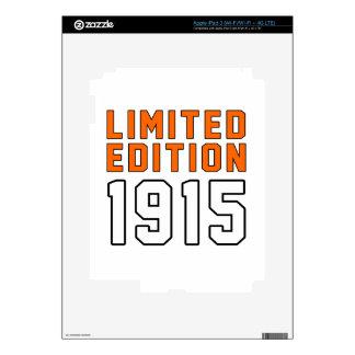 Limited Edition 100 Birthday Designs iPad 3 Skin