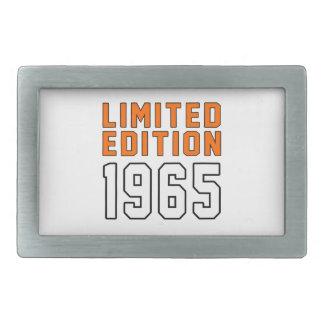 Limited Edition 1950 Birthday Designs Rectangular Belt Buckle