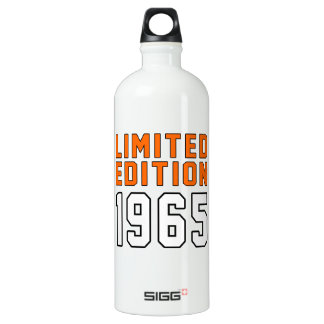Limited Edition 1950 Birthday Designs Water Bottle