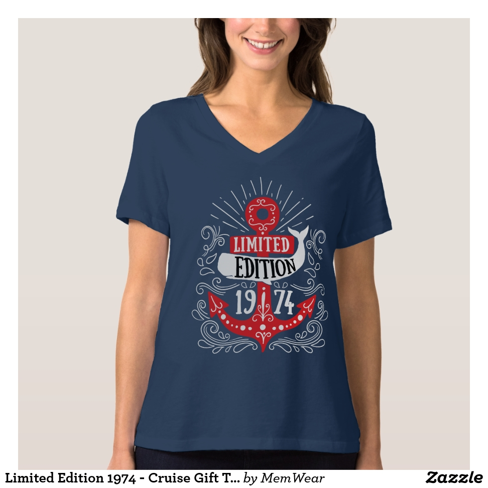 Limited Edition 1974 - Cruise Gift T-shirt - Best Selling Long-Sleeve Street Fashion Shirt Designs