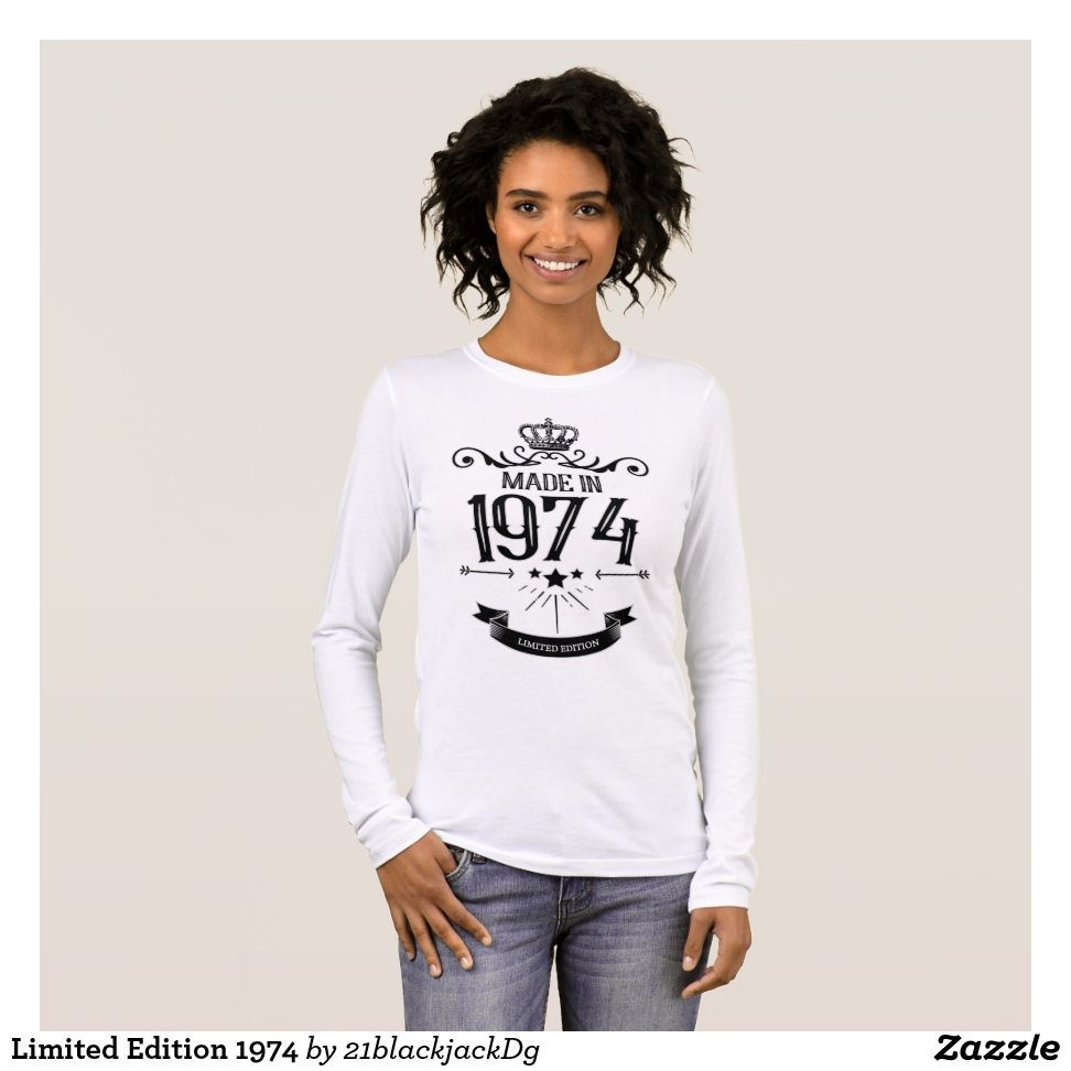 Limited Edition 1974 Long Sleeve T-Shirt - Best Selling Long-Sleeve Street Fashion Shirt Designs