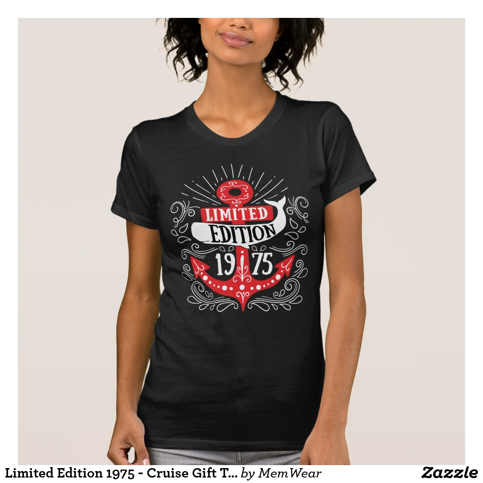 Limited Edition 1975 - Cruise Gift T-shirt - Best Selling Long-Sleeve Street Fashion Shirt Designs