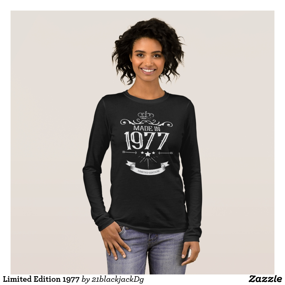 Limited Edition 1977 Long Sleeve T-Shirt - Best Selling Long-Sleeve Street Fashion Shirt Designs