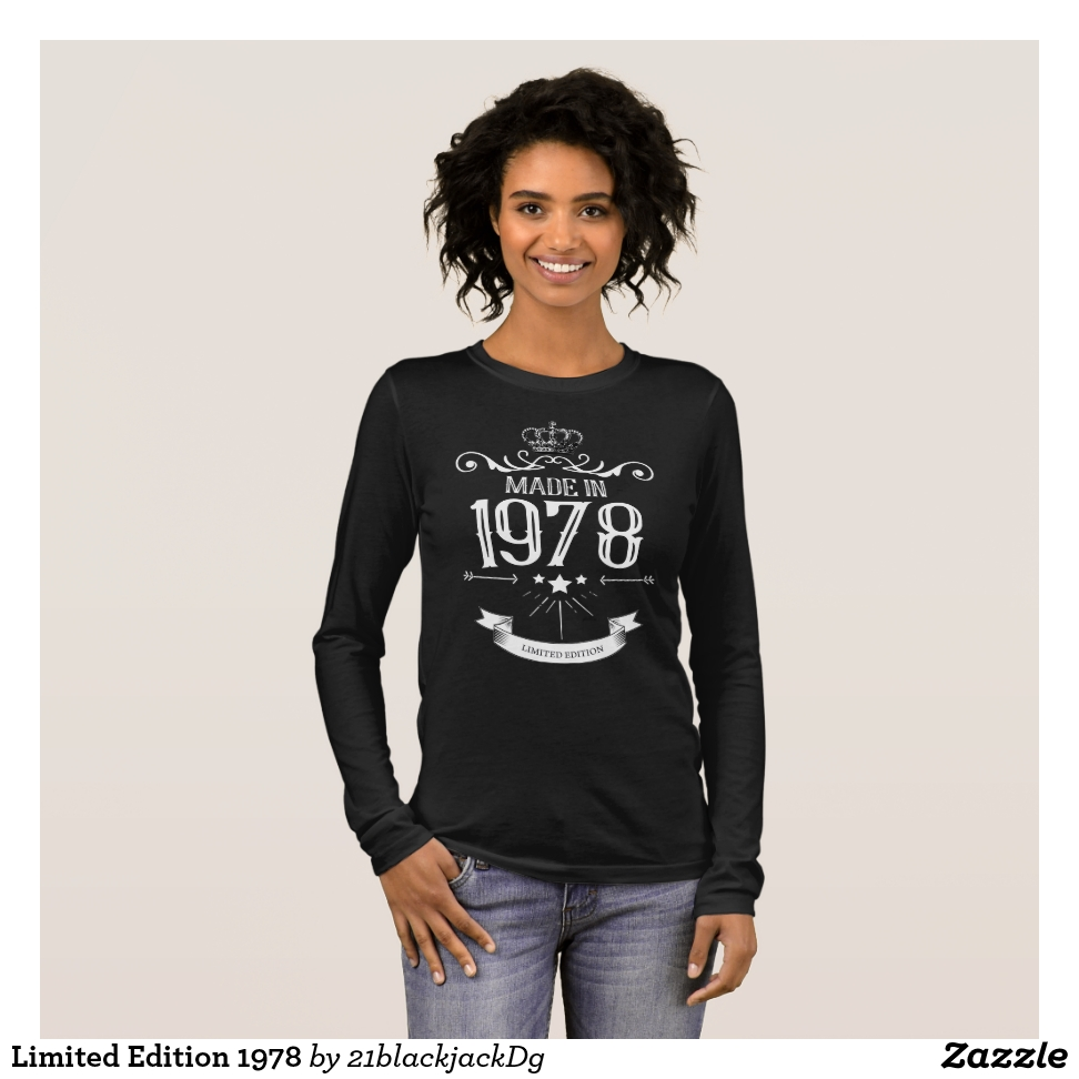 Limited Edition 1978 Long Sleeve T-Shirt - Best Selling Long-Sleeve Street Fashion Shirt Designs