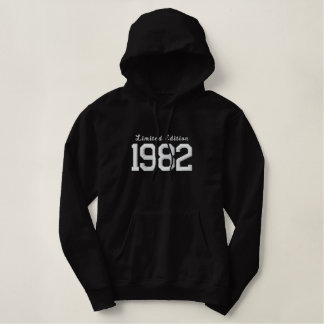 Limited Edition 1982 Embroidered Hoodie