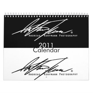Limited Edition 2011 12-month Calendar