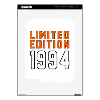 Limited Edition 21 Birthday Designs iPad 3 Skins