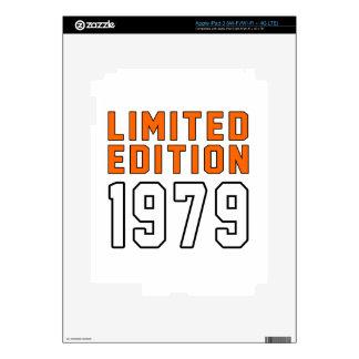 Limited Edition 36 Birthday Designs iPad 3 Decals