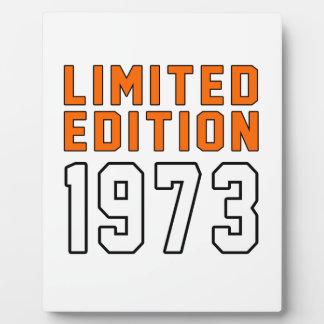 Limited Edition 42 Birthday Designs Photo Plaque