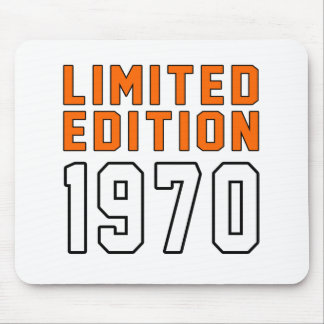 Limited Edition 45 Birthday Designs Mouse Pad