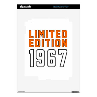 Limited Edition 48 Birthday Designs Skins For iPad 2