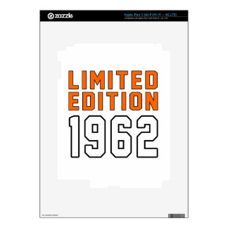 Limited Edition 53 Birthday Designs iPad 3 Skin