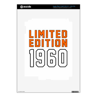 Limited Edition 55 Birthday Designs Skins For iPad 3