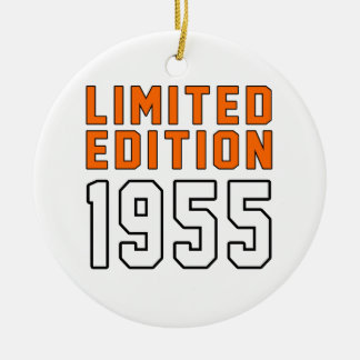 Limited Edition 60 Birthday Designs Ceramic Ornament