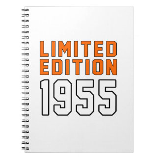Limited Edition 60 Birthday Designs Notebooks