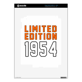 Limited Edition 61 Birthday Designs Decals For The iPad 2