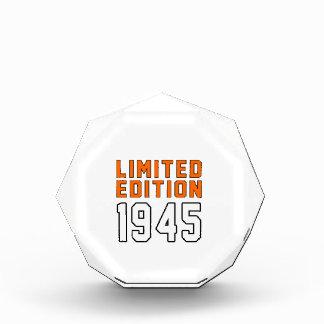 Limited Edition 70 Birthday Designs Awards