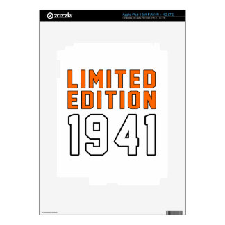 Limited Edition 74 Birthday Designs Decals For iPad 3