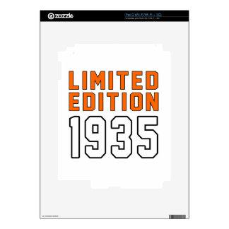 Limited Edition 80 Birthday Designs iPad 2 Skin